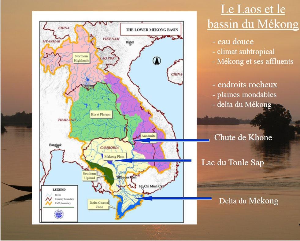 Le Laos et le bassin du Mékong