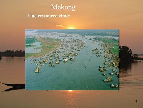 Le fleuve Mékong une ressource vitale pour ses habitants