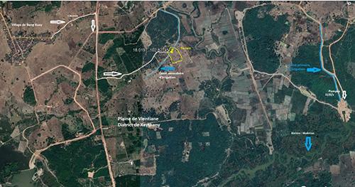 Etude hydrogéologique - Village de Dongkouay - Province de Vientiane